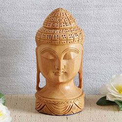 Buddha showpiece on your study table or office desk and get compliments in return. One can consider this complete set as a great gift