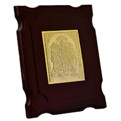 Table Ram Darbar Gold Plated beautiful photo frame