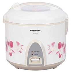 Panasonic SR KA 18 A Electric Rice Cooker with Steaming Feature  (1.8 L Cook N Carry)