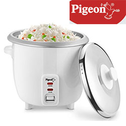 Pigeon Joy Rice Cooker 1.8L (White)