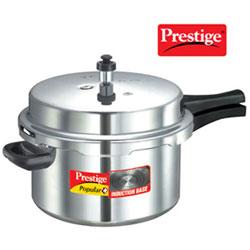 Prestige Popular Plus Induction Base Pressure Cooker, 7.5 Litres
