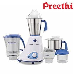 Preethi Blue Leaf Platinum MG 139 750-Watt Mixer Grinder