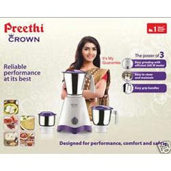 Preethi Economy - Crown MG-205 500-Watt Mixer Grinder (White/Purple)