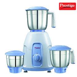 Prestige Stylo 550 W 3 Stainless steel jars 3 Stainless steel multi-purpose blades Water drains facility 550 Watts motor