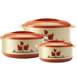 Milton Orchid High Quality Insulated Junior Casserole Set-3 pieces (500 /1000 /1500)ML Best Casserole Gift Set