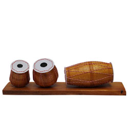 <strong>Tabala set</strong> Handmade Crafted Minia<br>  Decorative Showpiece Gift<br>