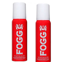 Fogg Napoleon Perfume Body Spray - For Men  (240 ml, Pack of 2)
