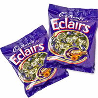 Cadbury Eclairs Chocolates. Net weight: 800 gm 205 nos).2 packet
