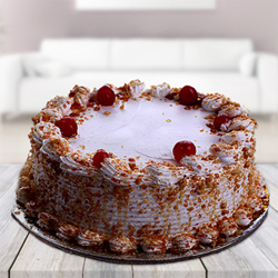 A very delicious 1/2kg butter scotch cake,  Flavour : Butter Scotch Cake,