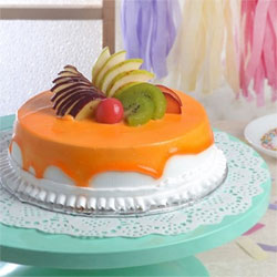 Delicious Round Mixed Fruit Cake (1 Kg), Cakes to Bangalore