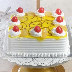 Square Pineapple Cake  2 Kg