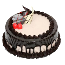 Try our dark chocolate gateaux cake to experience the ultimate yummy taste of dark chocolate.1kg , Cakes to Bangalore