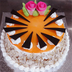 Special Almond Cake for your beloved birthday. 