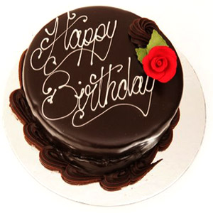 This chocolate Truffle cake as a birthday gift, will definitely add smile on your loved once face.
