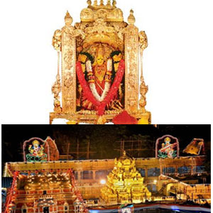 Annadanam at Vijayawada ( yearly once for 35 persons) + 1 Rose Garland.