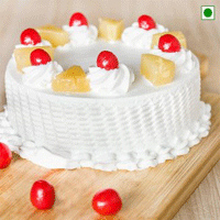 1kgPinapple Cake Cakes are always high in demand as gifts on a special occasion. And when it is Mother''s day then delicious cakes come in top priority as gifts for mom. This is a yummy pineapple cake with Mother''s day icing on top of it. Send this awesome treat to your mom in India and let her enjoy every bite of it.