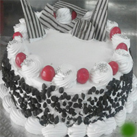 1kg Eggless Blackforest Paradise Cake