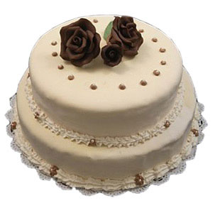 2 step cake 4kg for all sorts of celebrations, its subtle corners are sure to embrace attractive looks of audience, ButterScotch Flavour