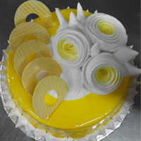 1 Kg Butter Scotch Jell cake 