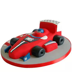 Red Hot Ferrari Car Cake 2.5kg 