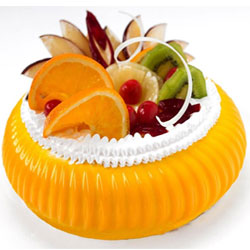 Premium Frish fruit Executive cake   Weight : 1kg  Cake   : Pastry <br> Flavour : Frish fruit