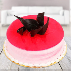 500 Gms birthday Strawberry cake to your near and dear, Quality Cakes from Best Bakeries.