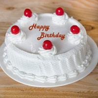Mouth Watering Fresh Cream Cake, Flavour: Vanilla Cake, Weight : 1kg