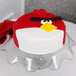 Angry Bird Fondant Chocolate Cake 2kg