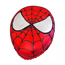 Spiderman Fondant Blackforest Cake 2kg The heroic activity of Spiderman when inscribed on the cake then it results in a wonderful treat.