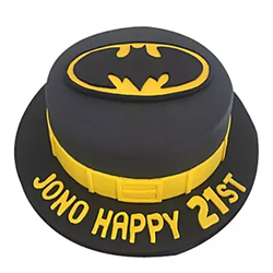 Batman Fondant Cake 1.5kg