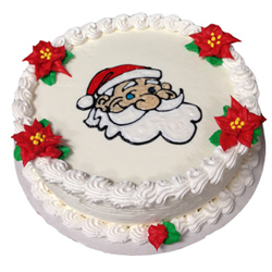 Santa Claus pineapple cake The luxurious and one of the eye-pleasing cake is the most favored cake to bring a happy curve to your near and dear ones faces.