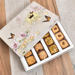 Let your nibbles and snacking be most delectable with a box of assorted cookies 1kg  from bakery Cookies