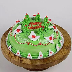 1kg Special Christmas Chocolate Cake