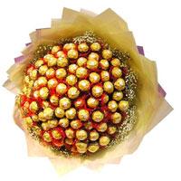 96 Pcs Ferrero Rocher chocolate bouquet will surprise anyone!
