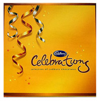 Cadbury chocolates to make your special moments even more special. This pack includes- Cadbury diary milk bars, nutties, gems, five star and crunchy perk 200 gms