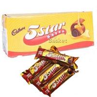 Cadbury 5 Star Energy Bar. Net weight: 800 gm 40 nos x 16gm packets).
