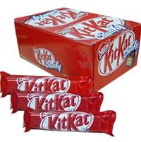 Nestle Kitkat Chocolates . Net weight: 720 gm 40 nos 1 box)