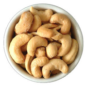 Roasted Cashews (Express Delivery) Send a box of 500gm roasted Cashews