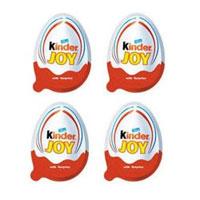 Kinder Joy Egg shape Chocos - (for Boys) - 8 pieces