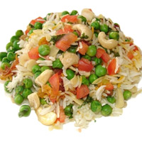 Vegetable Biryani (2 plates)