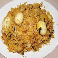 Egg Biryani (2 plates)