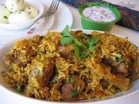 Mutton Dum Biryani (2 Plates )