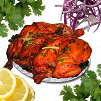 Tandoori Chicken (Full) (2 Plates )