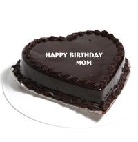 1.5 kg Heart Shape Chocolate Truffle cake