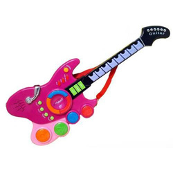 Kids Electronic Toy Battery operated Guitar suitable for 2 - 5 years