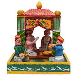 Marriage is an important part of Hindu culture, where the ceremony is organized in a traditional way 