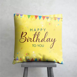 Your Sister, Boyfriend or Son to wish them a happy birthday. Size : 15in X 15in (l x b) Shape : Square