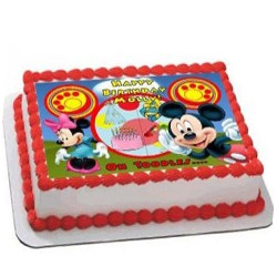 Mickey Mouse Photo cake
