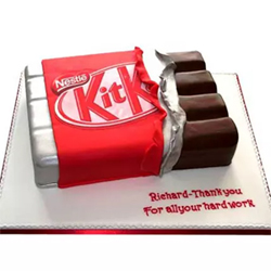 2kg  Kit Kat Shaped Cake Type of Cake -