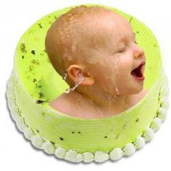Personalized Photo Cake 1.5kg